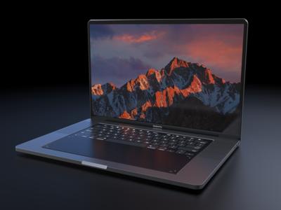 En este concepto el MacBook Pro sustituye teclado y trackpad por un panel táctil, y la idea no es nada descabellada