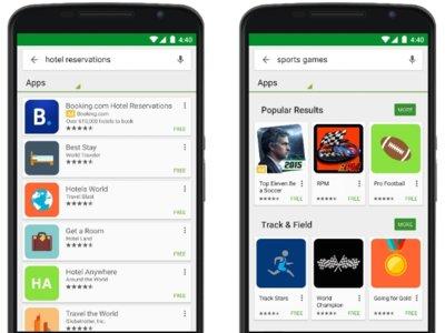 Google Play Store ya muestra publicidad en sus búsquedas
