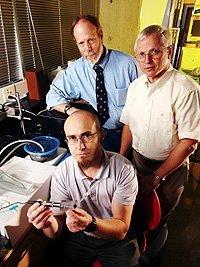 Detector de venas para facilitar el trabajo médico