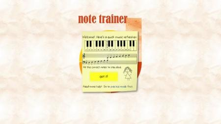Note Trainer Windows 8