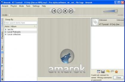 Amarok 2 para Windows
