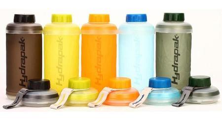 Hydrapak, la botella ideal para viajeros que respeta el medio ambiente