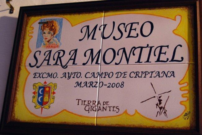 El Museo Sara Montiel es un molino en Campo de Criptana