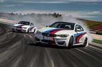 Los BMW M4 Coupé derrapan en Portimao