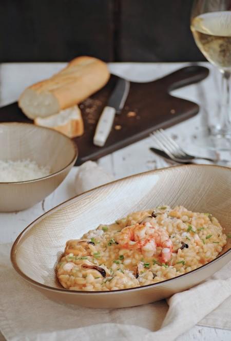 Risotto De Marisco Cocinando Con Neus Ohgar