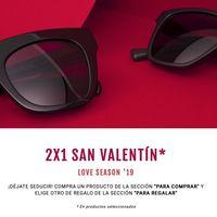Love Season'19 en Hawkers: 2x1 en gafas de sol por San Valentín