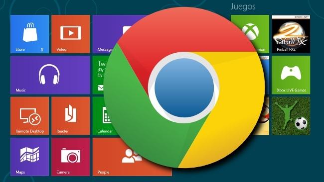 Chrome tendrá versión Metro