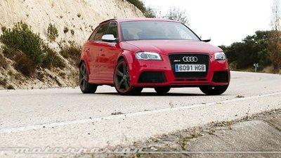 Audi RS3 Sportback, prueba (exterior e interior)