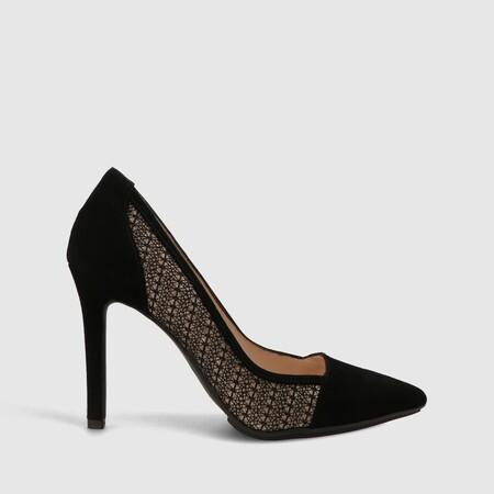Bota Uron Super Negro Zapatos Mujer Online