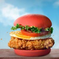 McDonald's celebra el estreno de Angry Birds con burgers rojas y verdes