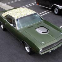 Plymouth Barracuda 'Mod Top' de 1.4 MDD es robado en mansión del dueño