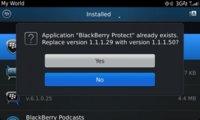 BlackBerry Protect se actualiza, pero sólo para BlackBerry OS 7