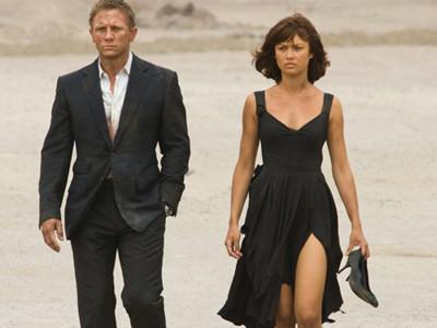 El vestuario de la película 007 Quantum of Solace