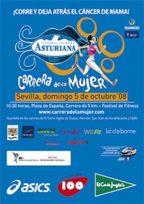 III Carrera de la Mujer en Sevilla, la mejor fiesta del deporte solidario