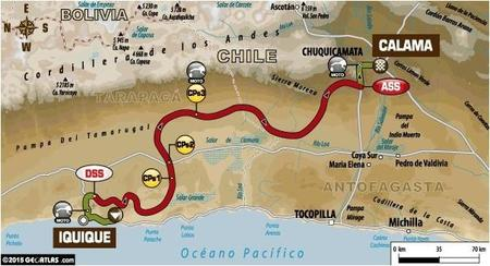 Recorrido Etapa9 Dakar2015