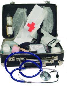 Regalos originales: maletín médico.
