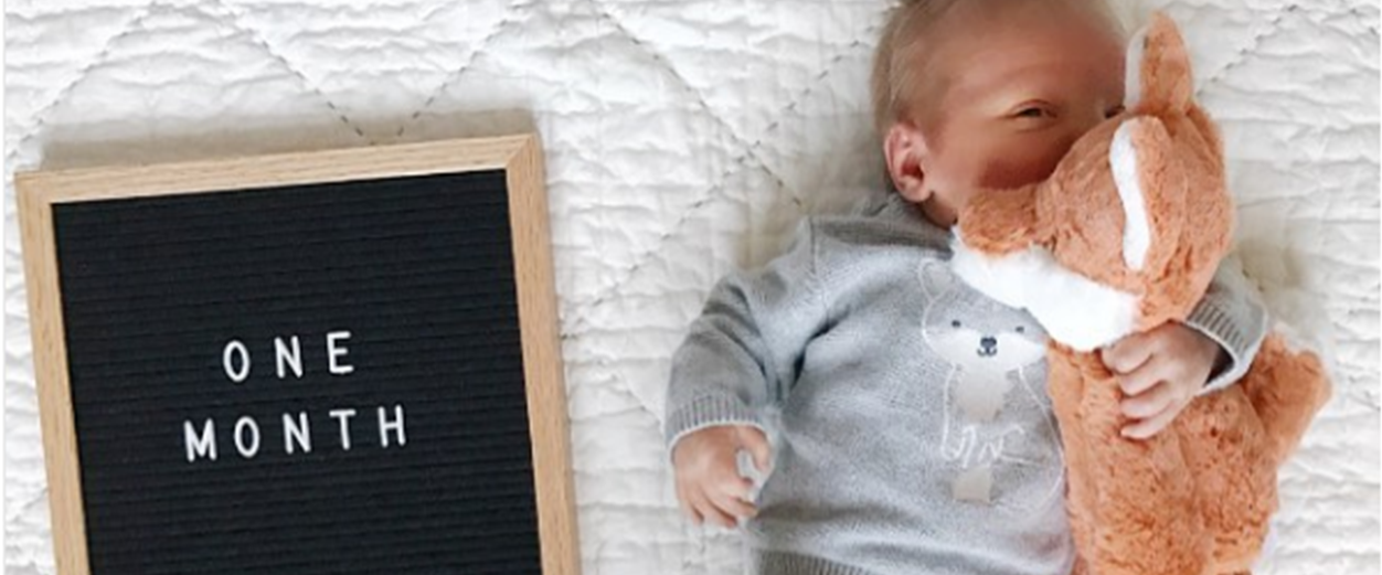Ideas Para Tomar Foto En Cada Cumple Mes Del Primer Año De Tu Bebé