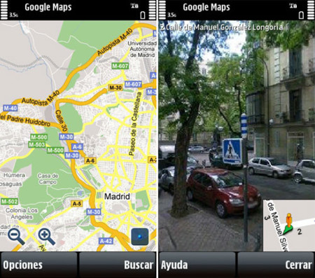 Google Maps disponible para el Nokia 5800