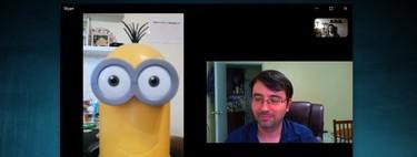 Cómo hacer una videollamada grupal en Skype