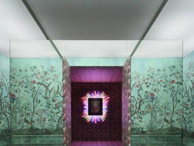 Los pájaros y flores de los biombos chinos del siglo XVIII reproducidos en la Gucci Tian Collection