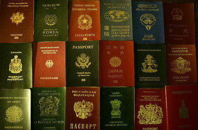 Infografía: curiosidades de los pasaportes
