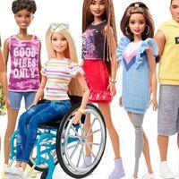 Barbie en silla de ruedas y Barbie con una pierna protésica: las nuevas incorporaciones de Mattel