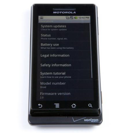 Motorola Droid, primeras conclusiones e imágenes de calidad