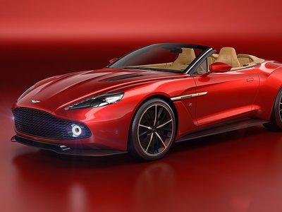 El Aston Martin Vanquish Zagato Volante estará en Pebble Beach, aunque ya están todos vendidos