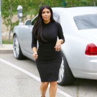 Mira cómo se nota ya el embarazo de Kim Kardashian
