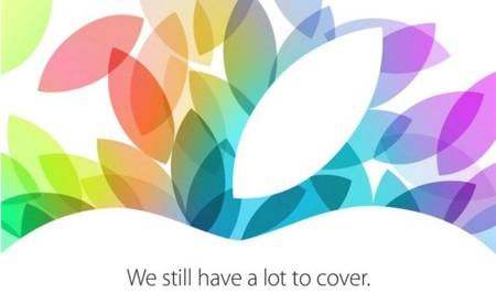 Apple anuncia un evento para el 22 de octubre, nuevos iPads a la vista