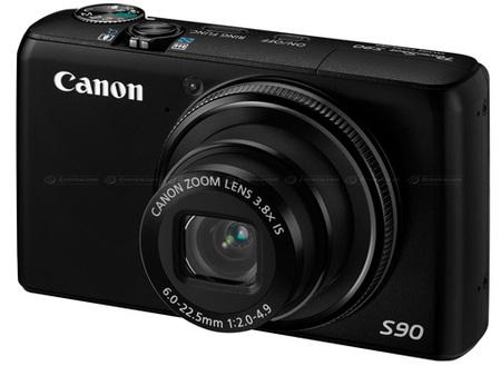 Canon Powershot G90 front
