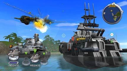 Battalion Wars 2 - Unidades navales