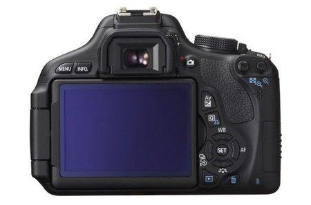 Canon EOS 600D - back