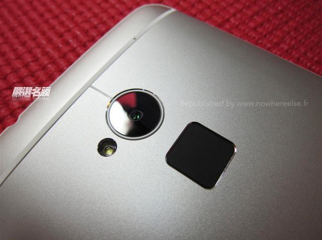 El HTC One Max y su lector de huellas no se esconden