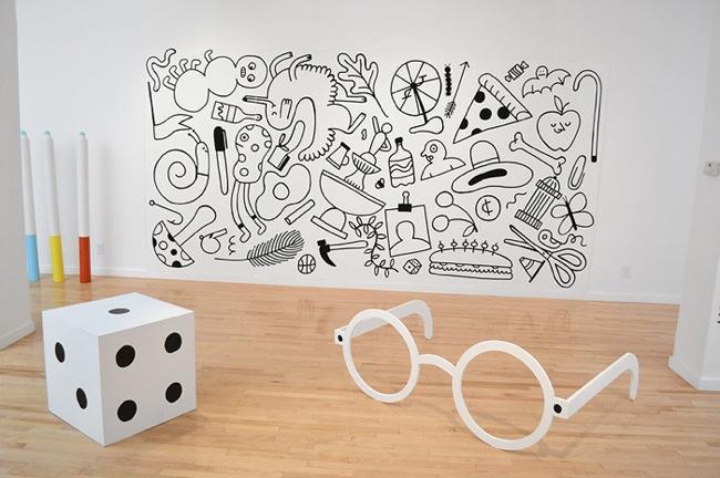 Color me rotuladores gigantes y a pintar las paredes - Pintar mural en pared ...