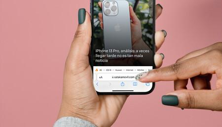 iOS 15: Cómo devolver la barra de navegación de Safari a la parte superior