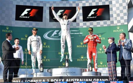 Rosberg gana un GP de Australia enmarcado por un aparatoso accidente entre Alonso y Gutiérrez