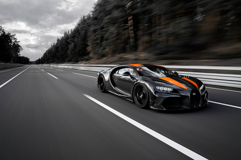 ¡490,484 km/h! Un prototipo del Bugatti Chiron es el nuevo coche más rápido del mundo