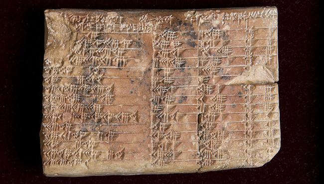 Una Tablilla Babilonica Esconde La Tabla Trigonometrica Mas Antigua Del Mundo Image 380