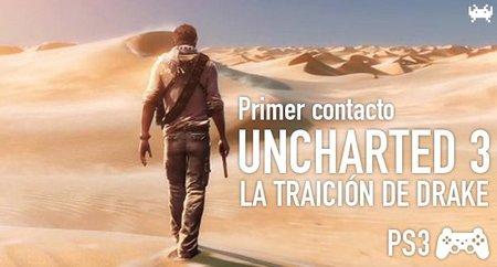 'Uncharted 3: La Traición de Drake' para PS3. Primer contacto