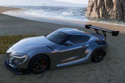 Este gameplay de Forza Horizon 5 nos enseña parte del mapa a bordo de un Toyota GR Supra y queremos jugarlo ya