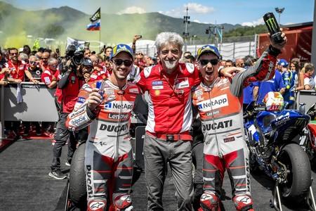 Andrea Dovizioso Gigi Dalligna Jorge Lorenzo Gp Italia Motogp 2018
