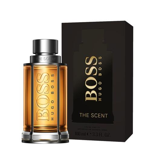 Maninka, jengibre y cuero se unen en el nuevo perfume Boss The Scent. Lo hemos probado