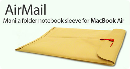AirMail: La primera funda para el MacBook Air