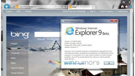 Se filtra la segunda beta de Internet Explorer 9