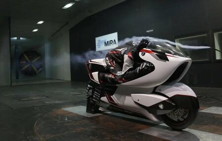 La Moto Wmc250ev Tunel De Viento Wmc