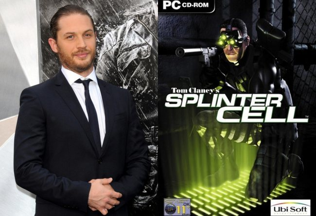 Tom Hardy en Splinter Cell