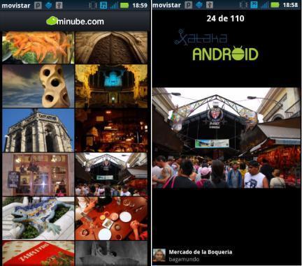 fotos guias de viaje android