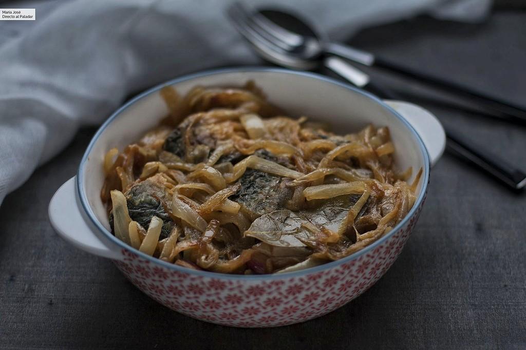 Caballa en escabeche de cebolla, una deliciosa receta para conservar y disfrutar de este pescado