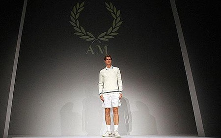 Fred Perry, en exclusiva, para Wimbledon